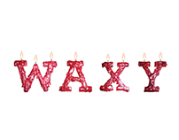 Waxy Typography