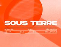 SOUS TERRE CERAMICS - Branding