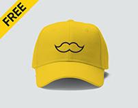Free Cap Mockup PSD