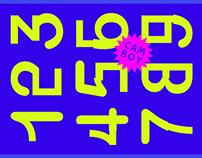 CAM BOY Typeface