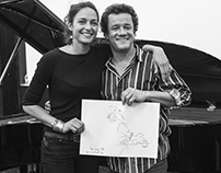 Live drawing with JACKY TERRASSON