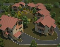 House&Landscape Exterior Rendering
