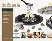 Dome Cafe Singapore - Website Revamp