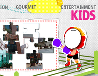 Kid's section (Le Mall)