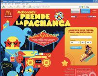 Web- McDondald's LatinGrammy's 2011 Promo