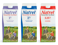 Natrel Milk Packaging