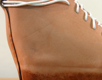 Boiled Leather Shoes