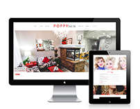Poppy Salon Website
