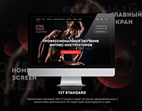 Fitness School Web Design
