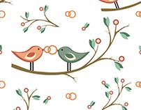 Wedding Set - love birds