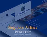 Singapore Airlines Dashboard App