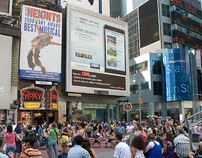 Coldwell Banker Real Estate Times Square Board
