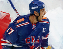Hockey club SKA. KHL