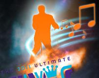 Ultimate Elvis Tribute Artist Contest Poster