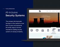 Corporate Website Design | Ui/Ux | Security Systems