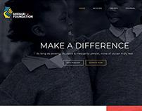 Gheisari Foundation ( Web design)