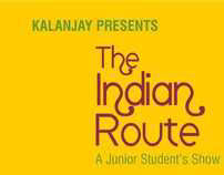 The Indian Route Invitation Design