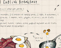 The Full English Breakfast - Illustrated Recipe