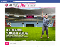 Support Future Stars - LG Electronics Love Indonesia
