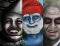 Halloween Portriats: Series 2
