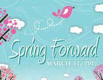 Spring Forward: Time Change Postcards