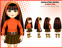Character Design Maru Doll