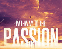 Pathway to the Passion Flyer, Ticket and CD Template
