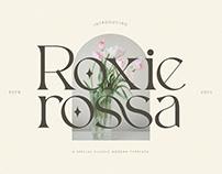 Roxie Rossa - Free Ligature Serif Font