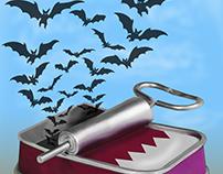 الخفافيش القطرية