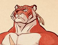 Sagat - The Muay Thai Tiger!