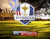 RYDER CUP // MAIN TITLES / BUMPERS