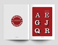 Clarendon   Type speciment booklet
