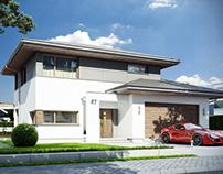 Projekt domu Modena