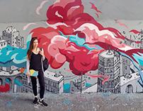 The Blast | Mural