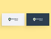 "Logo for ""Maximus travel"""