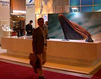 mebra exhibition booth