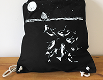 Midnight Orca - Cotton Tote Bag