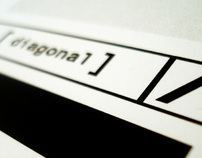 diagonal corporate identity