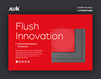 AluK Website Landing Page