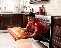 PIZZA HUT - Hot Delivery System