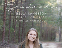 Graduation Announcements by Roots Photography