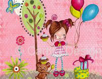 Illustrations Children| Cartita Design ©2012