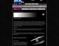 Website project - Suzuki Grand Vitara 2011