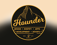New Hounder Swag (stickers)