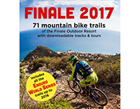Finale Ligure MTB trails' map