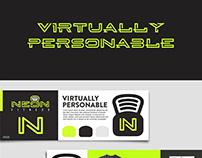 Neon Fitness Branding and Identity Design