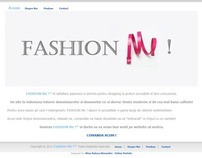 Website project - Fashion ME ! 2011