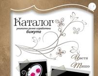 Catalog design for MISTRAL Handmade Jewelry