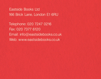 Eastside Bookshop logo design