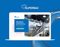 SuperBAC Biocubo | Landing Page | UI Design